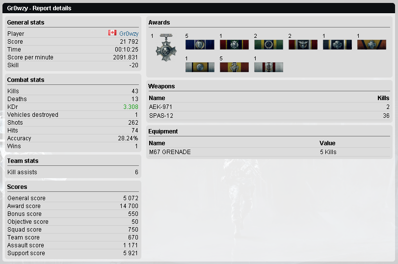 AK907 Clan Battlefield 3