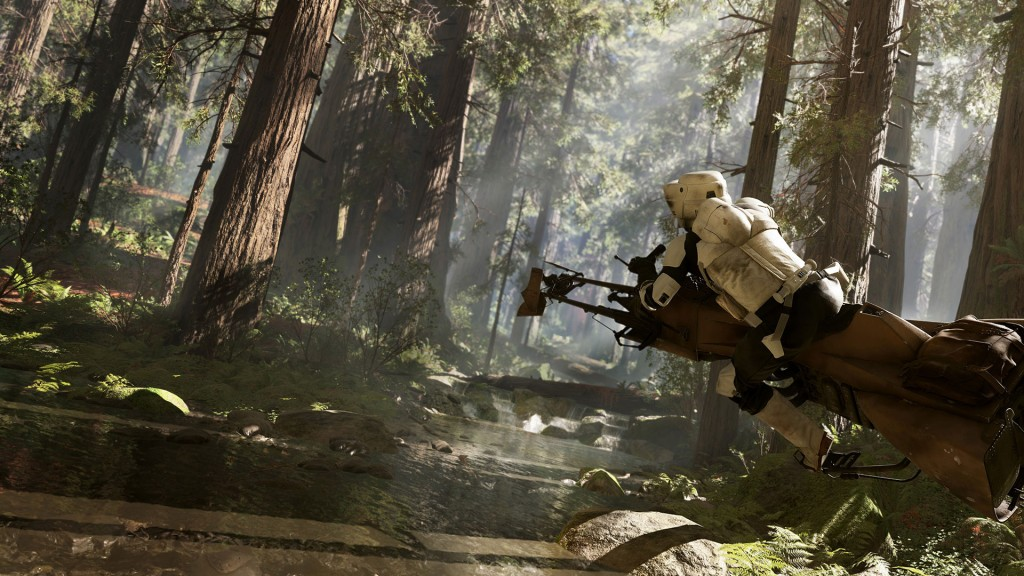 Star Wars Trooper on Endor